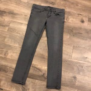 DC Skinny Jeans Size 31 Gray